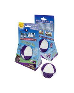 Visi-Ball pallo erottuu maastosta erinomaisesti
